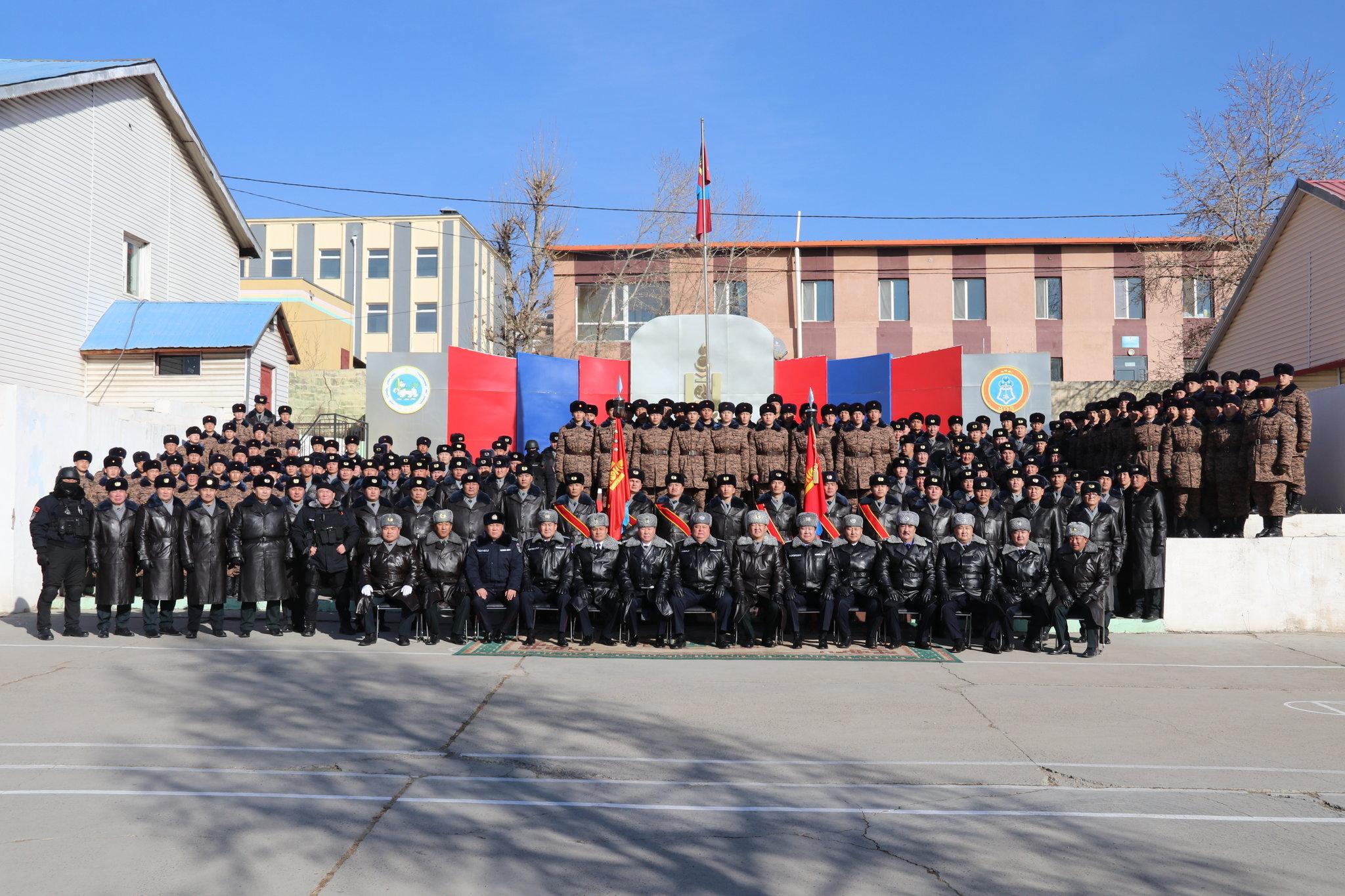 Цагдаагийн ерөнхий газрын удирдлагууд Дотоодын цэргийн штабт ажиллалаа